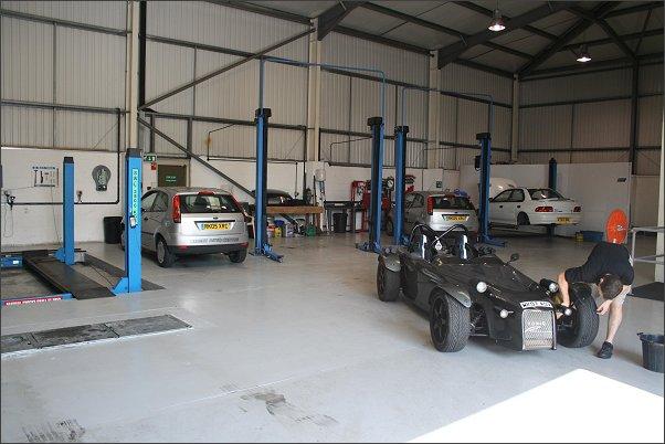 Arden Automotive Workshop