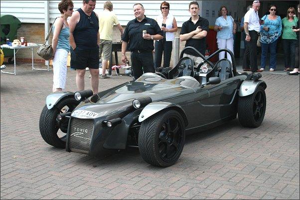 ToniqR at Arden Automotive