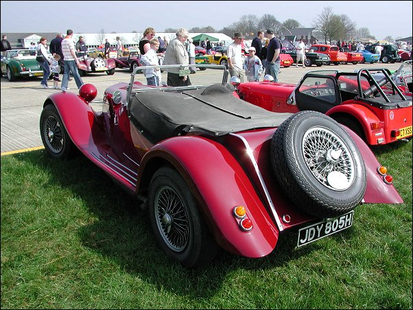 Detling Kit car show big turnout on both days