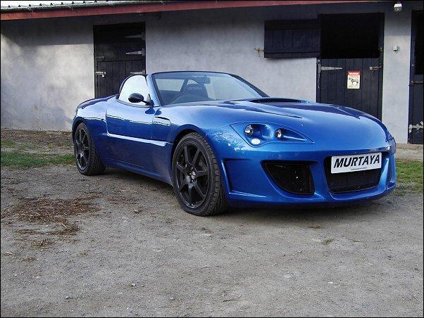 Blue Murtaya demonstrator with 350hp and 370lbft torque