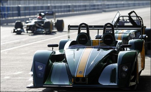 Caterham SP300R at Jerez F1 race track