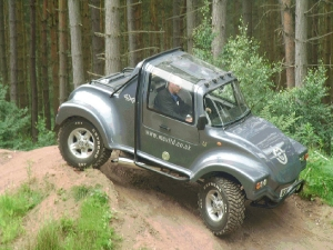 Mev 4x4 from mills extreme vehicles ltd for Panda 4x4 extreme