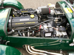 Super 7 - Caterham cars. K Series with Powerspeed exst