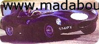 Proteus Cars Ltd - D Type. D type replica