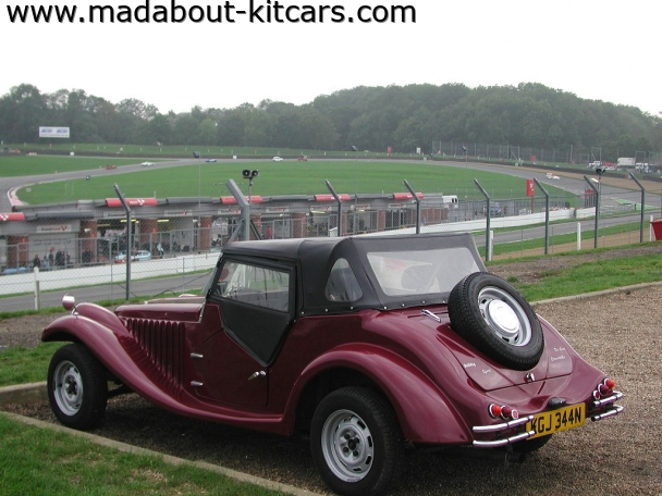 Pilgrim Cars - Bulldog. Overlooking the circuit