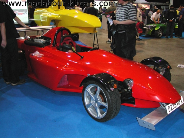 Edge Sportscars Ltd - Devil. Edge Sportscars stand
