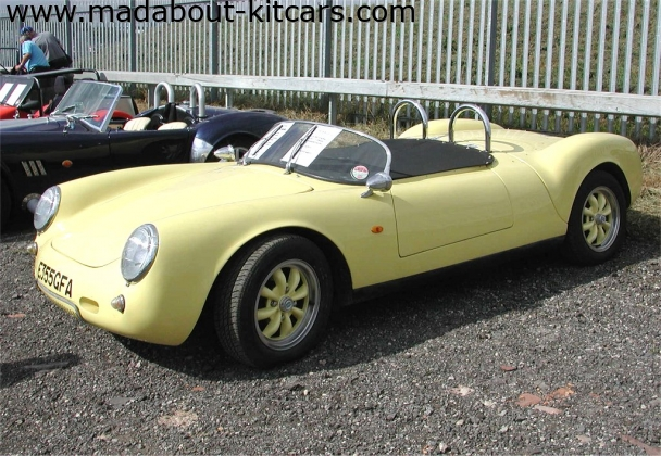 356 Sports - 130 Spyder. Side profile
