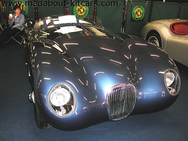 Nostalgia Cars - C Type. Immaculate as always