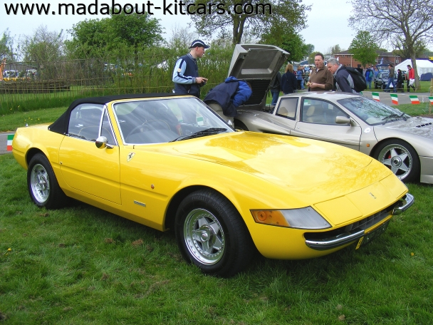 EG Autokraft - Daytona Spyder. Lovely example Stoneleigh 08
