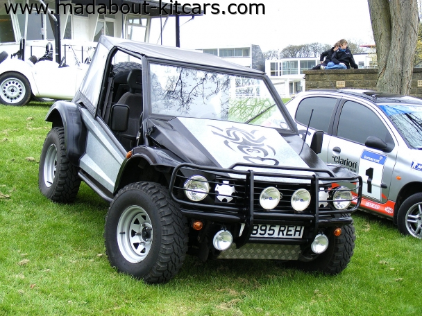 NCF Motors Ltd - Blitz 4x4. At Stoneleigh 2008 kitcar show
