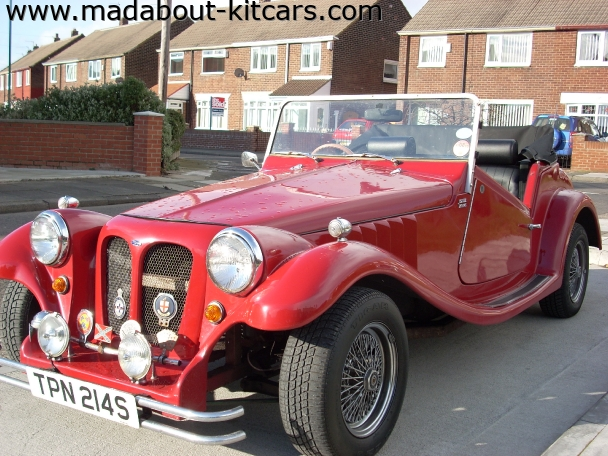 Pilgrim Cars - Bulldog. more of the red devil
