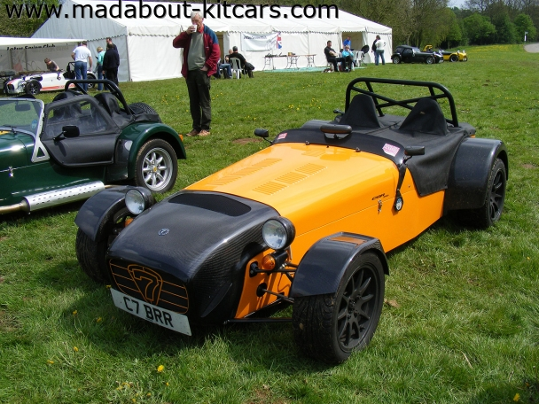 Caterham cars - CSR. carbon fibre nose & wings