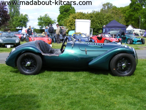 Kougar Sports Cars - Kougar Sports Classic. Side view of classic Kougar