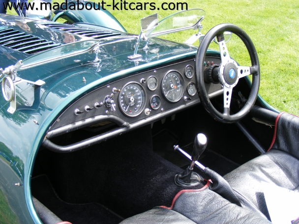 Kougar Sports Cars - Kougar Sports Classic. Kougar interior