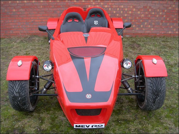 All new bodywork for MEV R2