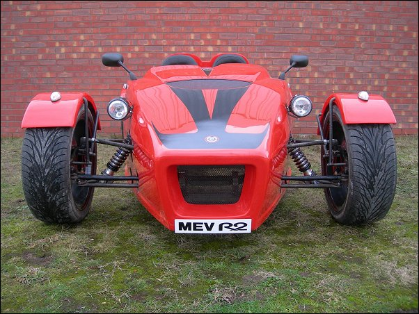 Front styling for MEV R2