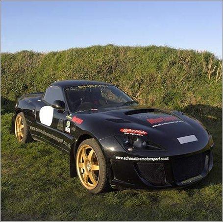 Murtaya car to run in the 2008 All Nippon Challenge