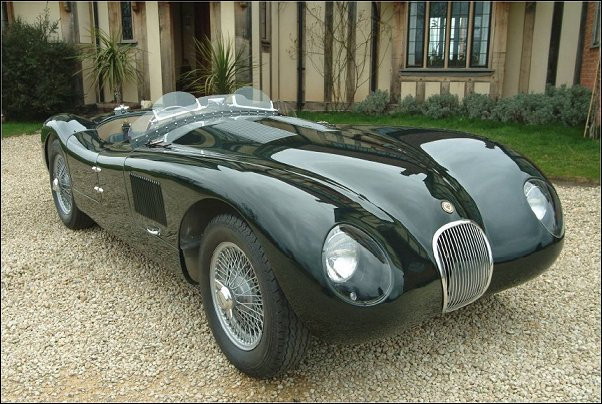 Proteus C Type Aluminum Bodied Jague XK120 C Replica