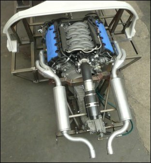 Ford Coyote 5.0 engine installation