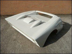 Tornado Mk11 GT40 rear clip