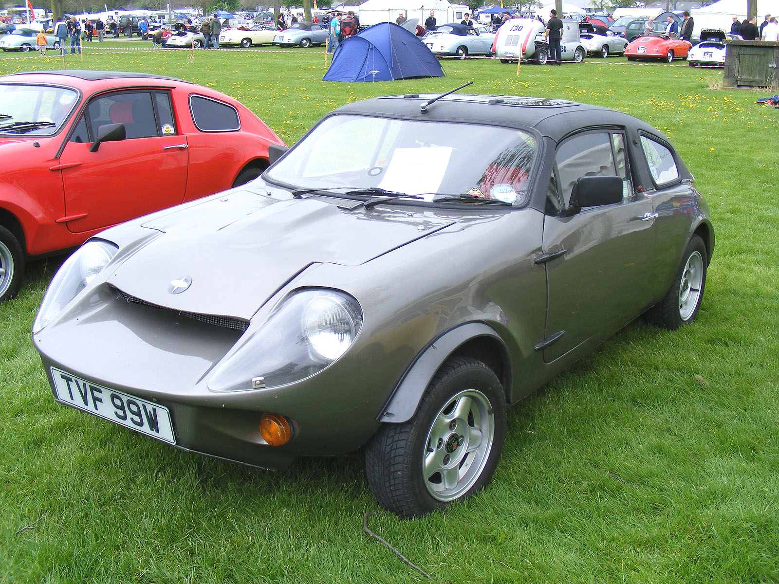 Image View - Grey Mini Marcos at Stoneleigh