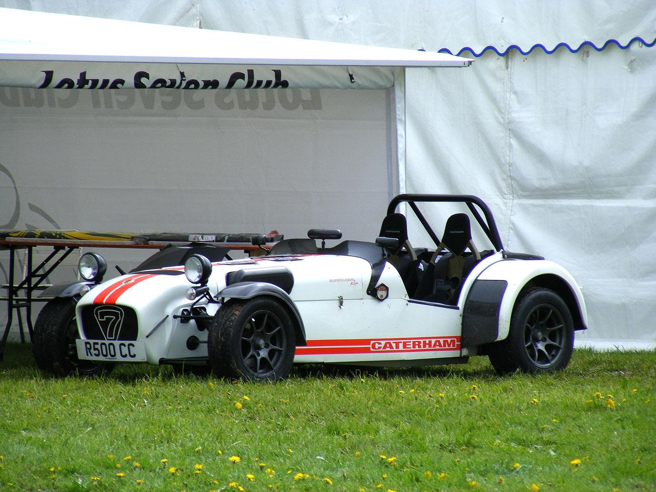 Lotus 7 kit car usa - Superlight R500 Caterham Cars R500 Stoneleigh 2008 Oc