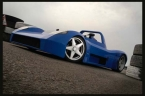 Turner Automotive Design Ltd - LMP. Ground hugging Turner LMP