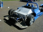 Turner Automotive Design Ltd - LMP. LMP with front bodywork off
