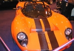 Orange demo car at Stoneleigh
