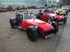 Tiger Sportscars - Avon. Tiger line up at Brands
