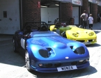 Image Sports Cars Ltd - Monza. Pair in the Pits