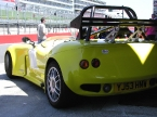 Image Sports Cars Ltd - Monza. Rear wing detailing