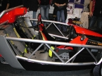SDR Sportscars - V Storm. Exposed chassis