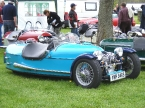 JZR Restoration - JZR. Lovely blue JZR trike