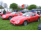 Roy Kelly - 250GTO. Pair at Stoneleigh kitcar show