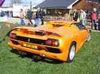 Rear end view Diablo replica