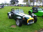 Lotus colours on this Caterham