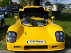 Yellow Can-Am front end
