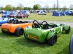 Pair of Toniq Rs at Stoneleigh