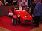 Image Sports Cars Ltd - Formula 27. Front view on show stand