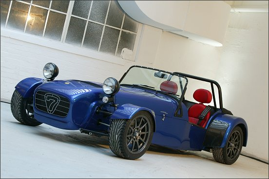 Caterham s new CSR model