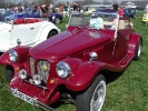 Burgundy Bulldog at Detling