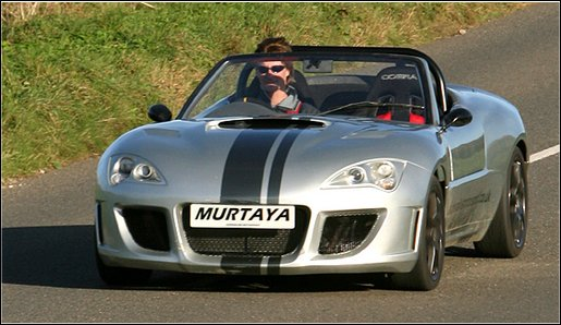 Murtaya out for a spin